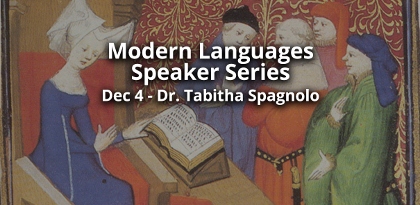 modern languages speaker series fma