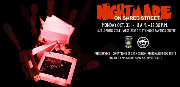 A Nightmare on Shred Street - Monday, October 31