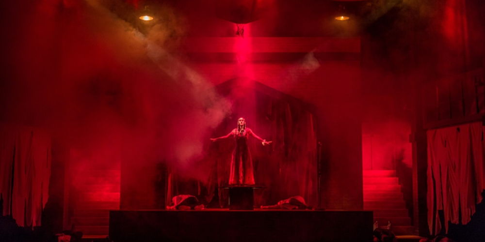 Image of stage play Carrie