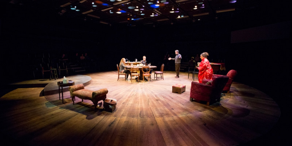 Image of play Tribes in David Spinks theatre