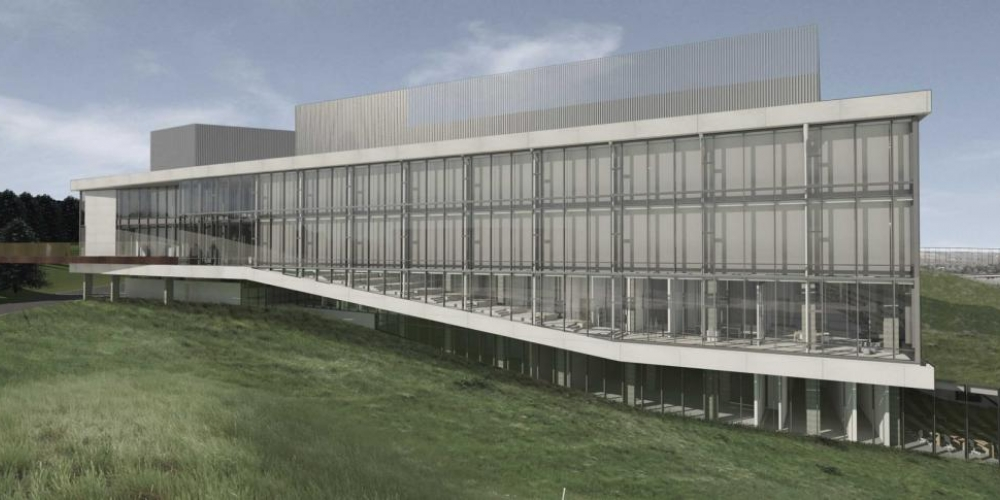 Rendering of new Science and Academic Building