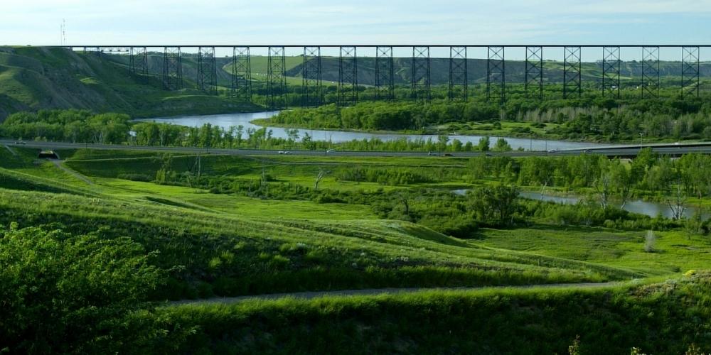 High Level train bridge