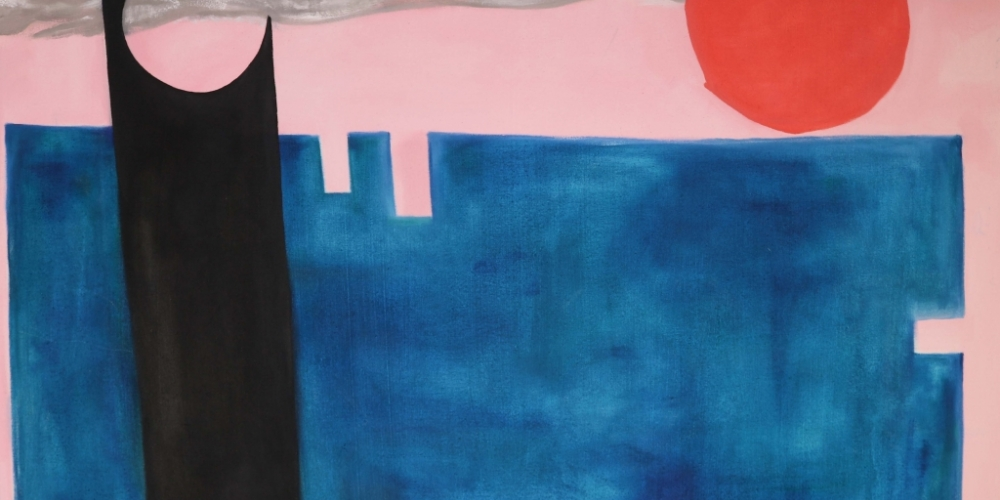 Jess Colley, Composition No. 3 - Pier at Sunset (2018)
