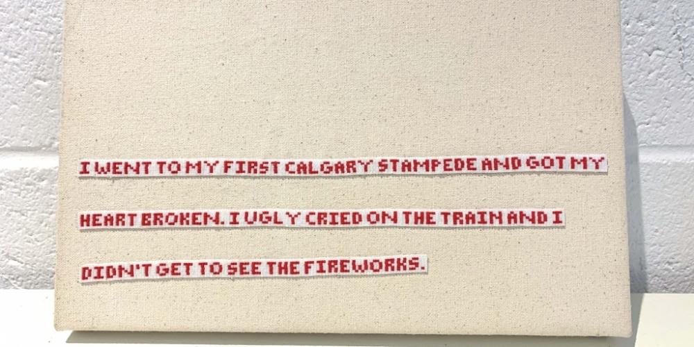 Kylie Fineday, Fireworks (2020)