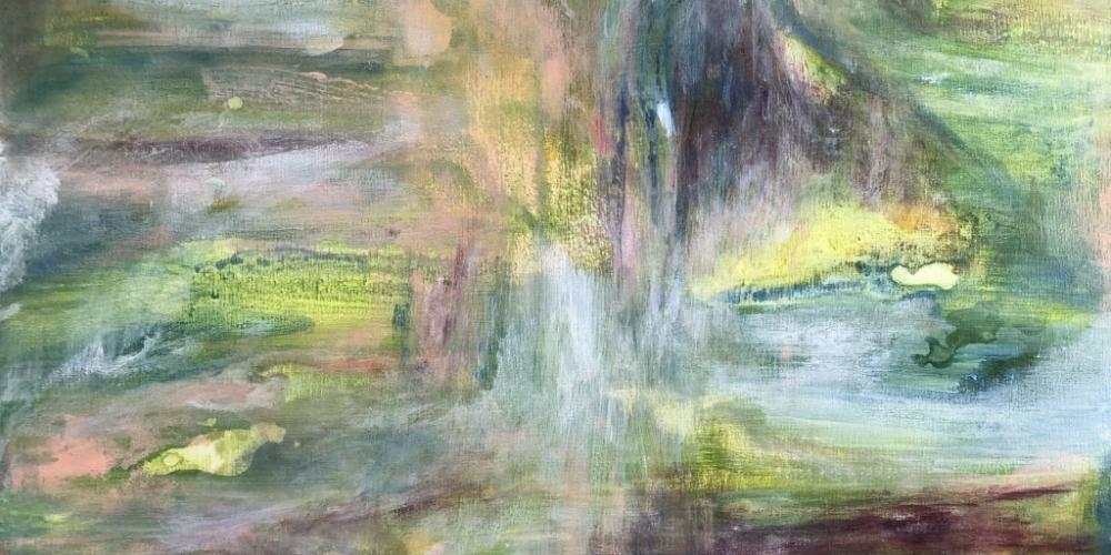 Eve Buk, Untitled - Green Composition (2020)