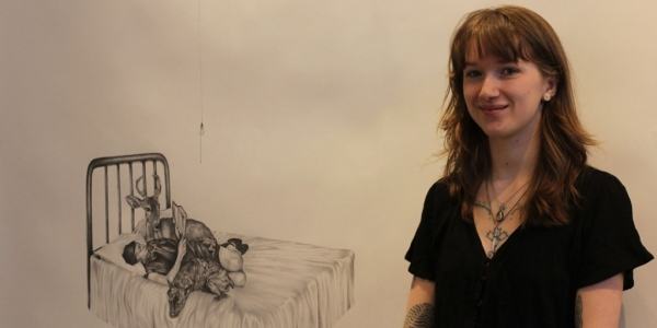 Laurel Scott's artwork was purchased by the Department of Art