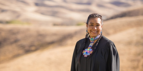 Jamie Medicine Crane (BEd '05) leads in her community as an activist, advocate, educator and artist