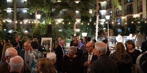 Abbondanza 2020 courtyard reception