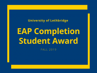 EAP Completion Scholarship International Awards