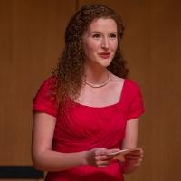 Petra Stauffer, voice student, opera 2019. Photo by Angeline Simon.