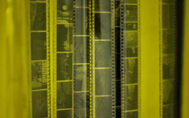 image of film negatives