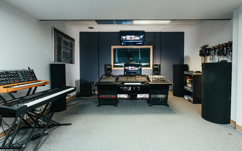 Digital audio arts facility Studio 2