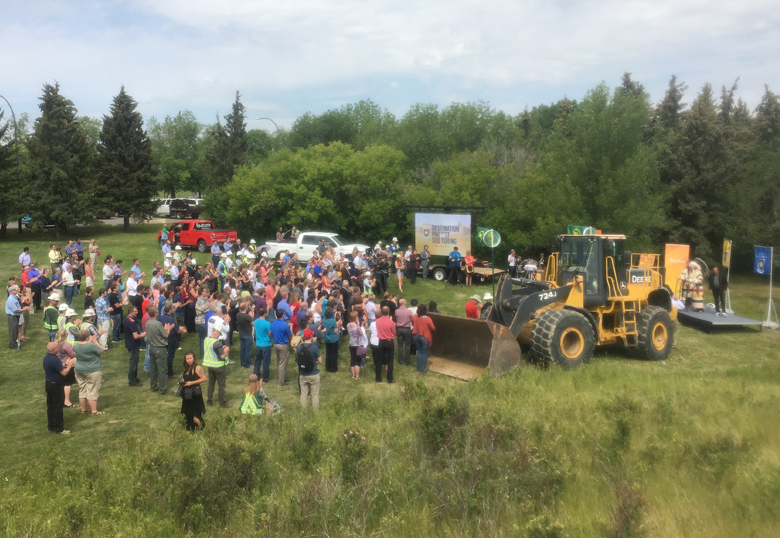 Destination Project Sod Turning   UNews