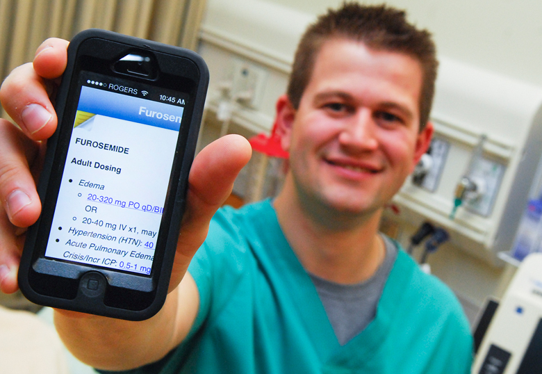 Mobile App Helping Nursing Students With Clinical Decision