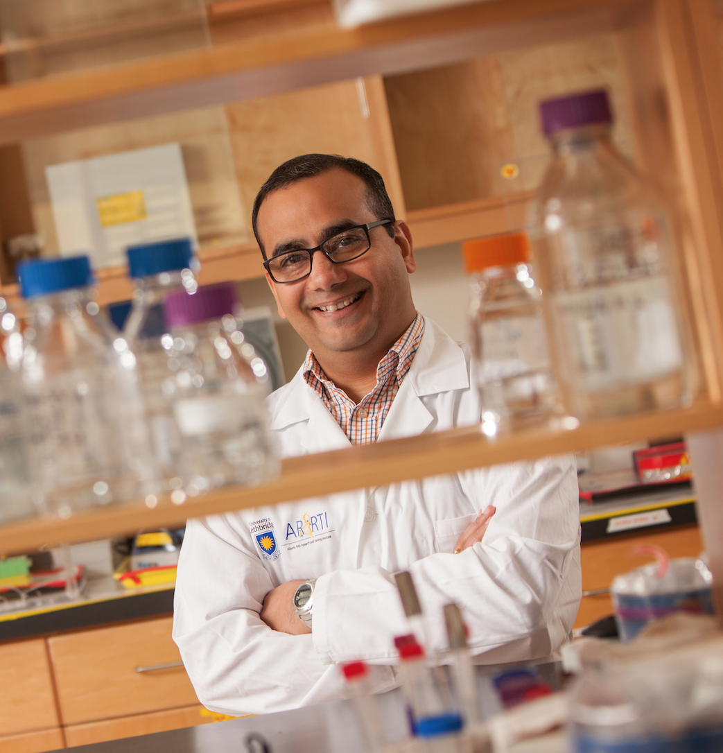 Dr. Nehalkumar Thakor is the new Campus Alberta Innovates Program Chair of Synthetic Biology and RNA-based Systems at the U of L.