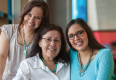 Maria Livingston, Margaret Lamouche and Sandra Lamouche