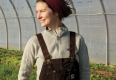 """""""I believe that we're stewards of the land. I want my farm to work with nature as much as possible."""" - Lydia Ryall"""